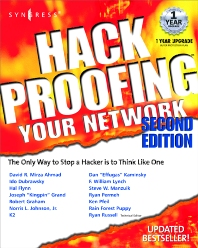 Hack Proofing Your Network 2E - 2nd Edition - ISBN: 9781928994701, 9780080478166
