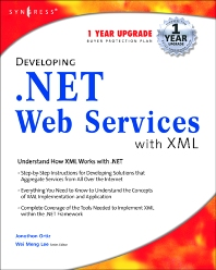 Cover image for Developing .Net Web Services With XML