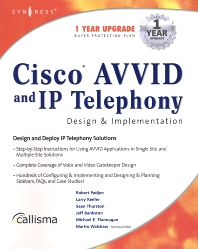 Cisco AVVID and IP Telephony Design & Implementation, 1st Edition,Wayne Lawson,ISBN9781928994831