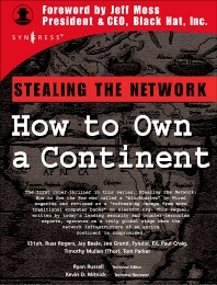 Stealing the Network - 1st Edition - ISBN: 9781931836050, 9780080481104