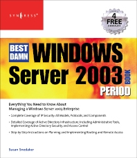 Cover image for The Best Damn Windows Server 2003 Book Period