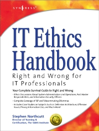 IT Ethics Handbook: - 1st Edition - ISBN: 9781931836142, 9780080478821
