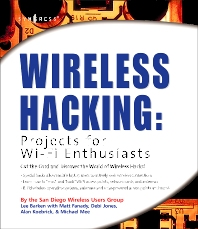 Cover image for Wireless Hacking: Projects for Wi-Fi Enthusiasts