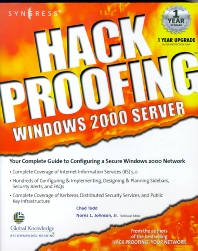 Hack Proofing Windows 2000 Server - 1st Edition - ISBN: 9781931836494, 9780080478142