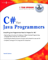 C# For Java Programmers - 1st Edition - ISBN: 9781931836548, 9780080476353