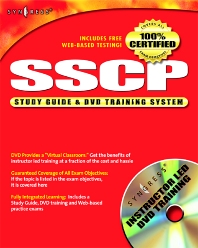 SSCP Systems Security Certified Practitioner Study Guide and DVD Training System - 1st Edition - ISBN: 9781931836807, 9780080481074