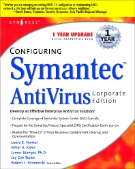 Configuring Symantec AntiVirus Enterprise Edition, 1st Edition, Syngress,ISBN9781931836814