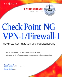 CheckPoint NG VPN 1/Firewall 1 - 1st Edition - ISBN: 9781931836975, 9780080476469