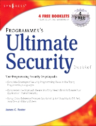 Programmer's Ultimate Security DeskRef - 1st Edition - ISBN: 9781932266726, 9780080480459