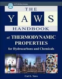 Yaws Handbook of Thermodynamic Properties - 1st Edition - ISBN: 9781933762074