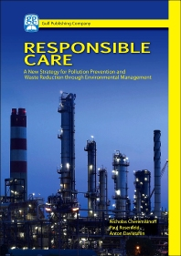 Responsible Care - 1st Edition - ISBN: 9781933762166, 9780127999852