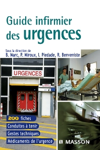 Guide infirmier des urgences - 1st Edition - ISBN: 9782294056376