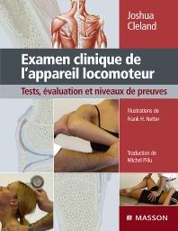 Cover image for Examen clinique de l'appareil locomoteur