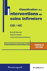 Cover image for Classification des interventions de soins infirmiers