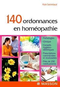 140 ordonnances en homéopathie - 1st Edition - ISBN: 9782294611926, 9782994098638