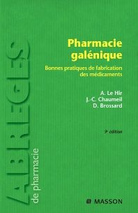 Pharmacie galénique - 9th Edition - ISBN: 9782294612046, 9782994099635