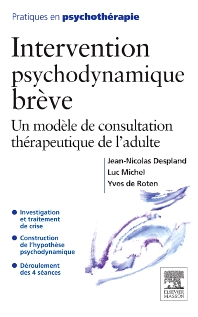 Intervention psychodynamique brève - 1st Edition - ISBN: 9782294706882, 9782994100386