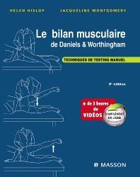 Cover image for Le bilan musculaire de Daniels et Worthingham