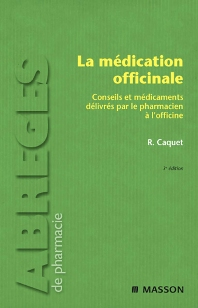 La médication officinale - 3rd Edition - ISBN: 9782294707445
