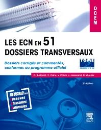 Les ECN en 51 dossiers transversaux - Tome 2, Dossiers 52 à 102 - 2nd Edition - ISBN: 9782294708824, 9782294725883