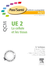 UE 2 - La cellule et les tissus - QCM - 1st Edition - ISBN: 9782294708923, 9782294732096