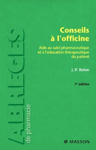 Conseils à l'officine - 7th Edition - ISBN: 9782294708930