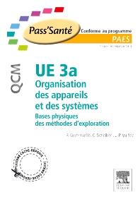 UE 3a - Organisation des appareils et des systèmes - QCM - 1st Edition - ISBN: 9782294708992, 9782294720062