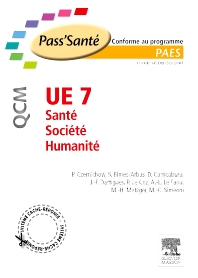 UE 7 - Santé - Société - Humanité - QCM - 1st Edition - ISBN: 9782294711244, 9782294732171