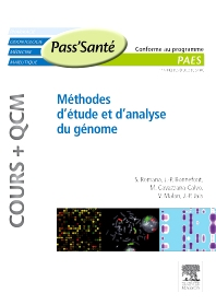 Méthodes d'étude et d'analyse du génome (Cours + QCM) - 1st Edition - ISBN: 9782294711688, 9782294722356