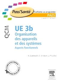 UE 3b - Organisation des appareils et des systèmes - QCM - 1st Edition - ISBN: 9782294712227, 9782294720277