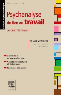 Cover image for Psychanalyse du lien au travail