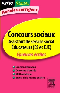 Annales corrigées Concours Assistant de service social Éducateur (ES et EJE) - 6th Edition - ISBN: 9782294713095, 9782294722110