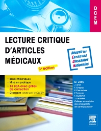 Lecture critique d'articles médicaux - 3rd Edition - ISBN: 9782294715013, 9782294732232