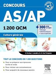 Concours AS/AP 1 200 QCM Culture générale - 1st Edition - ISBN: 9782294715440, 9782294723421