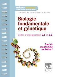 Biologie fondamentale et génétique - 1st Edition - ISBN: 9782294715969, 9782294729065