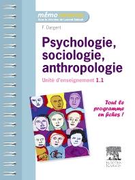 Psychologie, sociologie, anthropologie - 1st Edition - ISBN: 9782294716478, 9782294729027