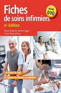 Cover image for Fiches de soins infirmiers