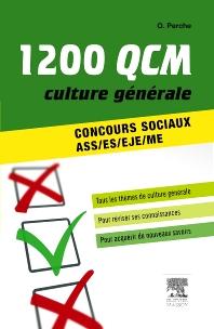 1 200 QCM Culture générale Concours sociaux  - 1st Edition - ISBN: 9782294719509, 9782294730429