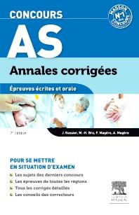Concours AS Annales corrigées Épreuves écrites et orale - 7th Edition - ISBN: 9782294719608, 9782294730122