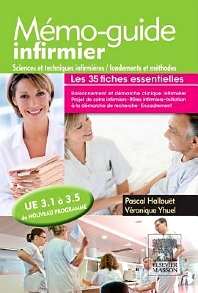 Mémo-guide infirmier - UE 3.1 à 3.5 - 1st Edition - ISBN: 9782294720543, 9782294729218
