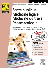 Santé publique. Médecine légale. Médecine du travail. Pharmacologie - 1st Edition - ISBN: 9782294724725, 9782294732966