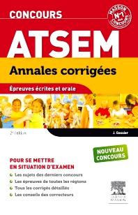 Concours ATSEM Annales corrigées  - 2nd Edition - ISBN: 9782294727832, 9782294730818