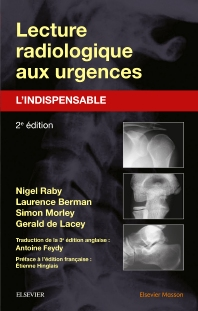Cover image for Lecture radiologique aux urgences : l'indispensable