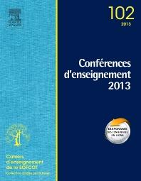 Conférences d'enseignement 2013 - 1st Edition - ISBN: 9782294735424, 9782294736643