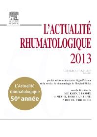 L'actualité rhumatologique 2013  - 1st Edition - ISBN: 9782294735462, 9782294736667