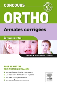 Cover image for Concours Ortho Annales corrigées