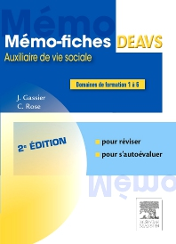 Mémo-fiches DEAVS - 2nd Edition - ISBN: 9782294740817, 9782294745317