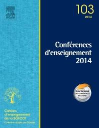 Conférences d'enseignement 2014 - 1st Edition - ISBN: 9782294745065, 9782294746369