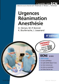 Urgences-Réanimation-Anesthésie - 4th Edition - ISBN: 9782294749551, 9782294750595
