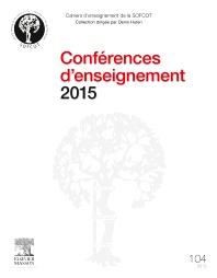 Conférences d'enseignement 2015 - 1st Edition - ISBN: 9782294749827, 9782294750588